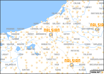 map of Nalsian