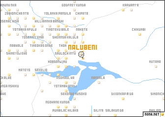 map of Nalubeni