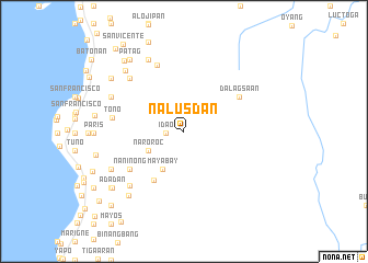 map of Nalusdan