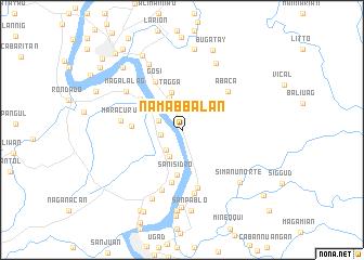 map of Namabbalan