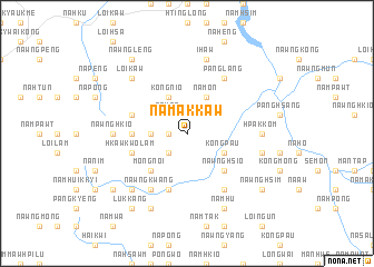 map of Nā-makkaw