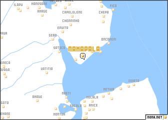 map of Namapala