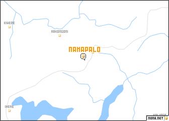 map of Namapalo