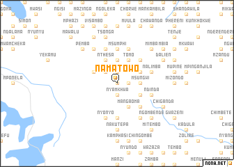 map of Namatowo