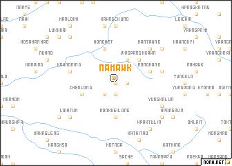 map of Nam-awk