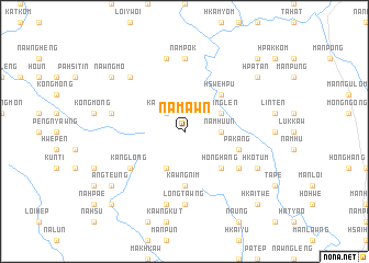 map of Na-mawn