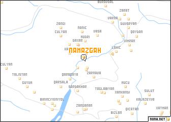 map of Namazgah