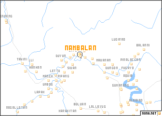 map of Nambalan