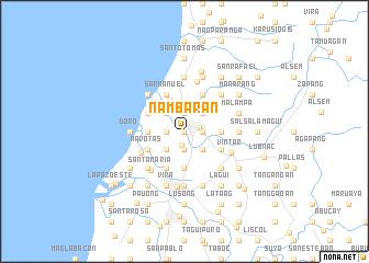 map of Nambaran