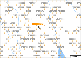 map of Nambawlin