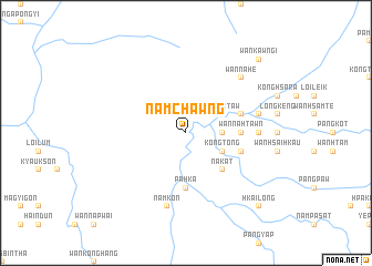 map of Namchawng