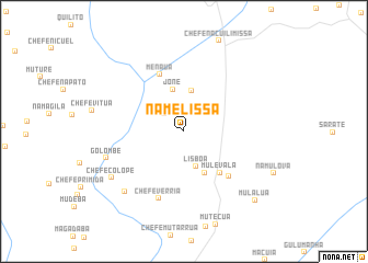map of Namelissa
