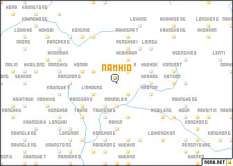 map of Namhio