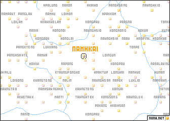 map of Namhkai