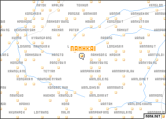 map of Namhkai
