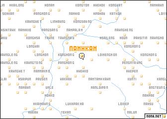 map of Nam-hkam