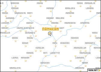 map of Namhkam