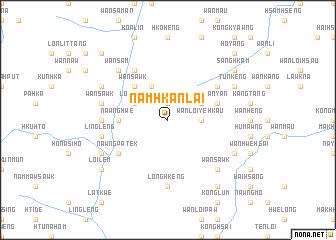 map of Namhkanlai