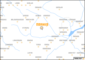 map of Namhka