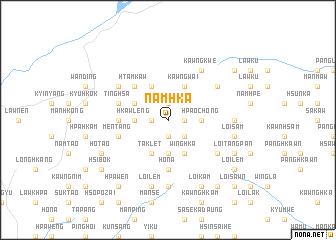 map of Namhka