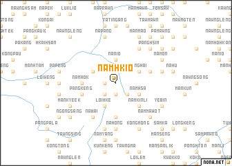 map of Namhkio