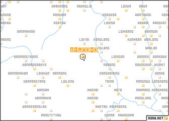 map of Namhkok