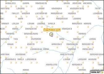 map of Namhkum