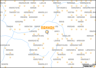 map of Namhok