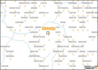 map of Namhok