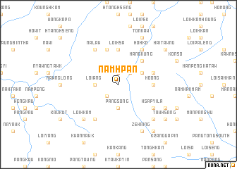 map of Namhpan