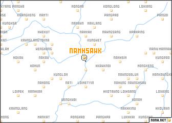 map of Namhsawk