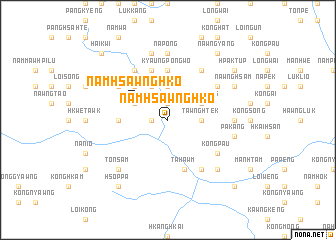 map of Namhsawnghko