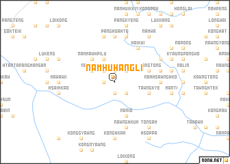 map of Namhuhangli