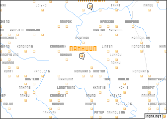 map of Namhu-un