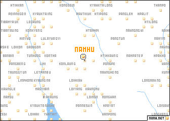 map of Namhu