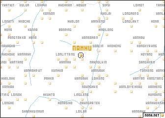 map of Nam Hu