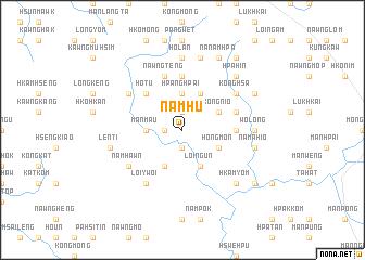 map of Nam-hu