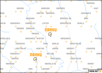 map of Namhu