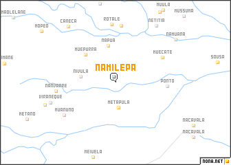 map of Namilepa