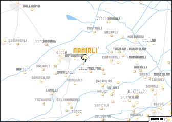 map of Namirli