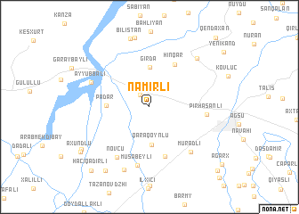 map of Nǝmirli