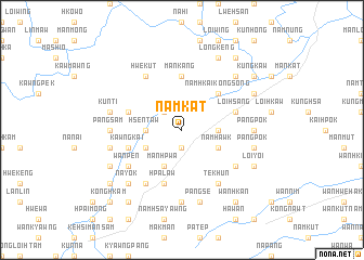 map of Namkat