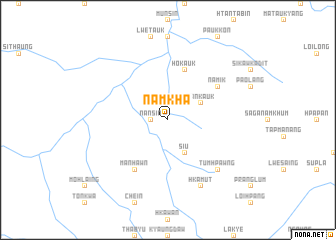 map of Namkha