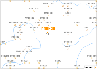 map of Namkon