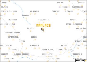 map of Na Młace