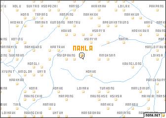map of Namla