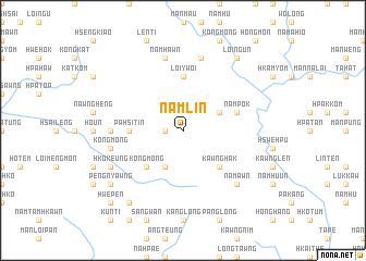 map of Namlin