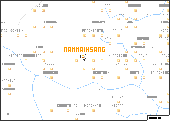 map of Nammaihsang