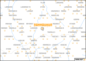 map of Nammau-hun