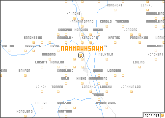 map of Nammawhsawm